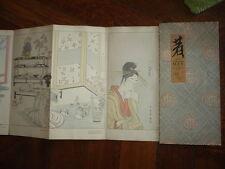 CONTE NIPPON 1910 EDITE PAR LES FOURURES MAX ART NOUVEAU JAPON
