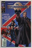 Establishment #1-13 Complete Series Authority Ian Edginton Charlie Adlard DC