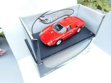 FERRARI 250 LM RED 1:18 DIECAST CAR MODEL BY HOT WHEELS 23914 NEW OVP