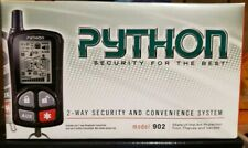 Python 902Responder 6-channel keyless entry security system with LCD remote
