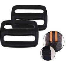 25mm Plastic Buckle 3 Bar Slider Triglide for Webbing Bag Backpack Strap Belt