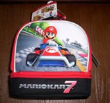 MARIO KART 7 NeW Insulated Lunchbox Boy's Lunch Box Tote Bag NWT MarioKart 7