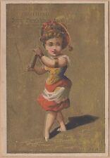 Victorian Trade Card-J D Wilbur & Co Clothing-Fall River, MA-Peruvian Woman