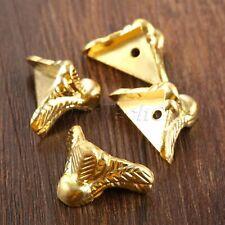 Fashion Wood Chest Jewelry Gift Box Feet Leg Corner Protector Guards Decorative