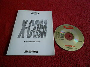 TERROR FROM THE DEEP PC X-COM CD