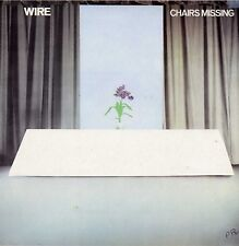 """WIRE """"CHAIRS MISSING"""" ORIG UK 1978 NEW WAVE"""