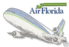 "Air Florida Airlines Logo Fridge Magnet 3.25""x2.25"" Collectibles (LM14041)"