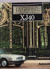 JAGUAR XJ40 - PIERO CASUCCI  French Italian English language edition