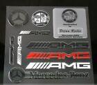 NEW PVC Car Auto sticker Decal Badge Emblem Fit For Mercedes Benz AMG C E CLA S