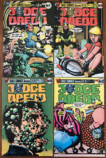 Judge Dredd Lot Of 4 (1984-86 Eagle/Quality) Brian Bolland art
