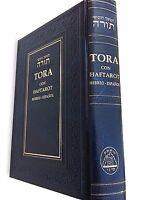Hebrew Spanish Judaica TORAH Pentateuch and Haftarot Book Bible Judaica israel