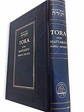 Hebrew Espanol TORAH Pentateuch and Haftarot Bible  Book Judaica israel