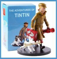 """Figurine de collection Tintin et Milou """"Ils arrivent !"""" 17,5CM HERGÉ"""
