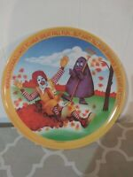 "Ronald Mcdonald Great Fall Fun Collectible Plate 10"" Plate Vintage Grimace #G"