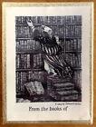 Rare SEALED Edward Gorey Ex Libris Antioch Publishing 50 Bookplates & box 1953