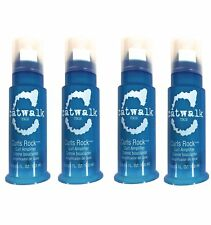 Tigi Catwalk Curls Rock Amplifier 3.8 Oz, Pack of 4