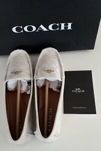 Coach White / Chalk Loafers