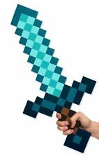 Minecraft Large Blue Diamond Sword EVA Weapons Plush Doll soft toys