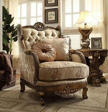 Homey Design HD-506 Traditional Upholstered Fabric  Living Sofa Chair