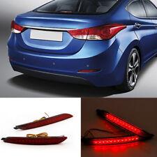 LED lens Rear Bumper Reflector Brake Light For 2012-13 Hyundai Elantra MDAvante