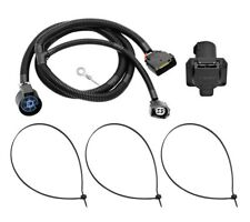 7-Way RV Trailer Wiring Harness Kit For 09-12 Ford E-150 E-250 E-350 Super Duty