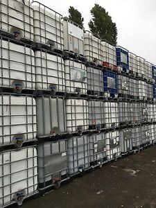 IBC 1000Liter Container  Regentonne Wasserfass Regenwassertank waschmittelTank