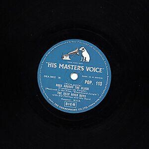 Deep River Boys 78 Rock Around The Clock / Adam Never Had No Mammy Hmv Pop 113 E