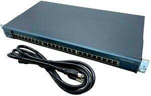 Cisco Catalyst WS-2950-24 Network Switch 24 10/100 Ethernet Ports - w/ WARRANTY!