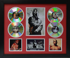 Tupac Signed Limited Edition Framed Memorabilia (r)