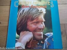 GLEN CAMPBELL - COUNTRY FAVOURITES - RECORD/VINYL - CAPITOL - EG 26005521