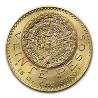 1919 Mexico Gold 20 Pesos BU - SKU#43961