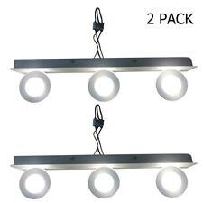 2 Pack Modern Stainless Steel LED Vanity Light Wall Lamp Bathroom Makeup Fixture