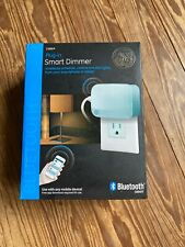 Ge 13866 Plug-In Smart Dimmer Indoor Bluetooth Timer Module New