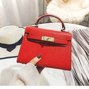 Women Genuine Leather Handbag Shoulder Bag Crossbody Tote Lady Messenger Satchel