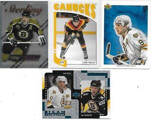 4 CARD LOT CAM NEELY BOSTON BRUINS - VANCOUVER CANUCKS #3