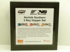 NSE 20-89 Special Run Norfolk Southern 100 Ton Coal Hopper 3 Car Set