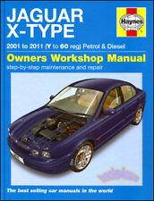 JAGUAR X-TYPE SHOP MANUAL SERVICE REPAIR BOOK HAYNES CHILTON AWD WORKSHOP 3.0 V6