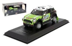 IXO Mini All4 Racing Winner Dakar Rally 2013 - Stephane Peterhansel 1/43 Scale