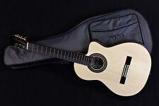 Cordoba 55FCE Negra Limited Edition España Spruce Top Classical Guitar w/ Gigbag