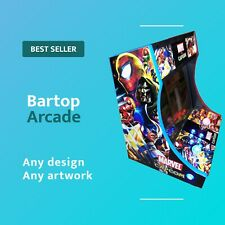 Bartop Arcade Multicade Mame plug and play plays thousands of games