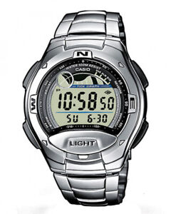 NEW Casio Silver Mens Watch Casio Collection W-753D-1AVES