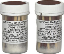 Bushcraft Weatherproof Survival Matches CN325. Stronger and more effective than