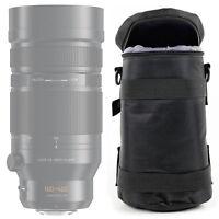 Black Carry Bag for Panasonic Leica DG Vario-Elmar 100-400mm F4.0-6.3 ASPH Lens