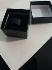 10 mm Black Tungsten Carbide Mens Wedding Band Size 8