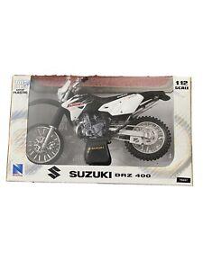 newray 1:12 motocross Diecast Model Bike Suzuki DRZ400