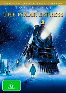 The Polar Express DVD. 2 Disc Edition. SEE DESCRIPTION. Good Condition. Region 4