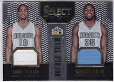 Aaron Affalo,Kenneth Faried 2014-15 Select, Double Team ,(Materials),51/149