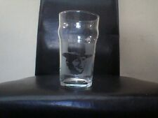 Clint Eastwood Etched Engraved Beer Pint Glass