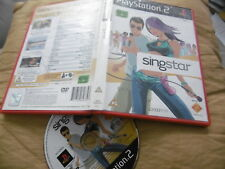 SINGSTAR ORIGINAL PLAYSTATION PS2 PAL A-HA MADONNA ELVIS ORBISON PINK BLUE DIDO