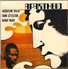 """JACQUELINE DULAC / J. LITTLETON """"MARTIN LUTHER KING / APARTHEID"""" EP"""